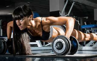 Программа упражнений для девушек