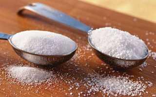 Как отказаться от сахара и соли