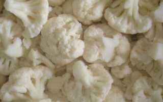 Сколько варить замороженную цветную капусту, чтобы не потерять её полезных свойств