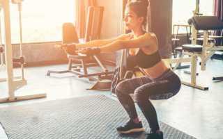 Комплекс упражнений в тренажерном зале на ягодицы