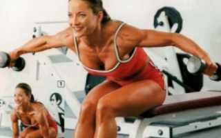 Плечи упражнения с гантелями