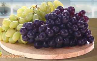 О полезных свойствах и калорийности винограда