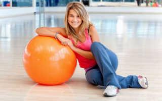 Эффективные упражнения для приятного и быстрого похудения на мяче
