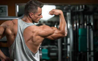 Простые упражнения на плечи для занятий в тренажёрном зале