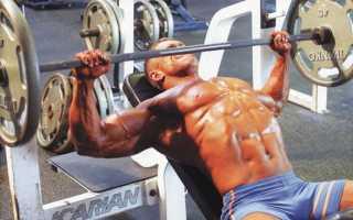 Упражнения для внутренней части груди