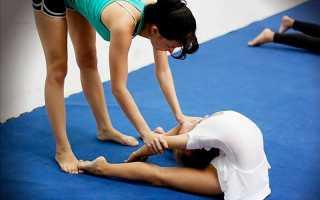 Как растянуть спину как у гимнасток