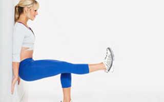 Упражнение стульчик у стены какие мышцы работают