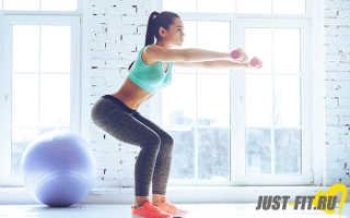Силовые упражнения для ягодиц