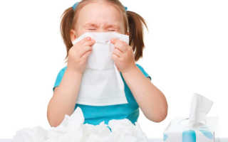 Что делать, если ребенок часто сморкается и чихает?