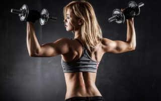 Упражнения в зале для спины для девушек
