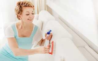 Как почистить от пятен, пыли и грязи мягкую мебель в домашних условиях