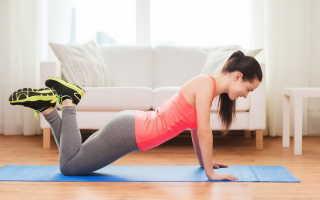 Можно ли с помощью йоги накачать ягодицы