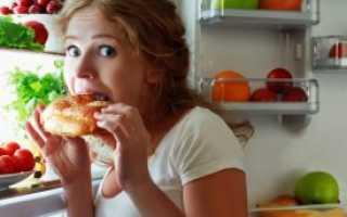 Сорвалась с диеты и наелась сладкого