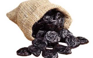 Польза и вред чернослива