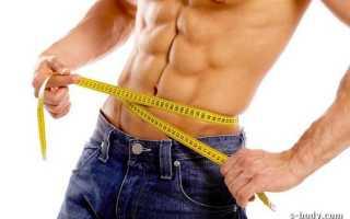 В тренажерном зале для похудения для мужчин