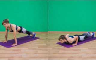 Список упражнений для тренировок дома