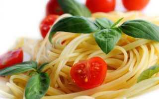 Макароны и фигура: калорийность и правила употребления продукта