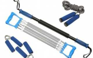 Комплекс упражнений с эспандером дома для мужчин
