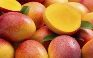 Манго – номер один в хит-параде полезных фруктов