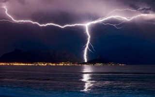 Опасность молнии во время грозы: стоит ли бояться?