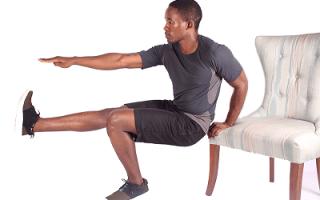 Как накачать бедра мужчине в домашних условиях