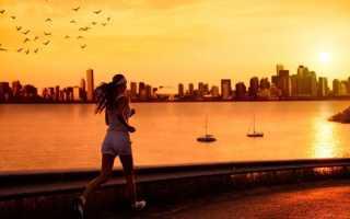 Бег перед сном для похудения