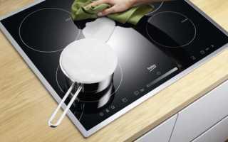 Как легко очистить стеклокерамическую плиту в домашних условиях