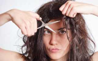 Как подстричь кончики волос и освежить причёску самостоятельно?