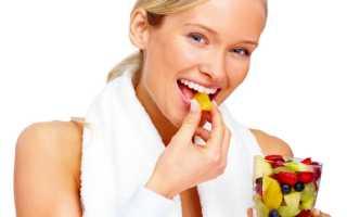 Как правильно составить план питания для похудения