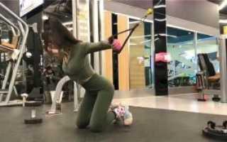 Упражнения в зале для начинающих девушек