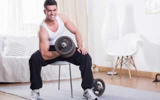 Комплекс упражнений для мужчин дома