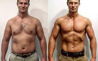 Рацион на неделю для похудения для мужчин