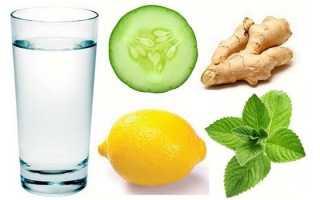 Напитки для похудения в домашних